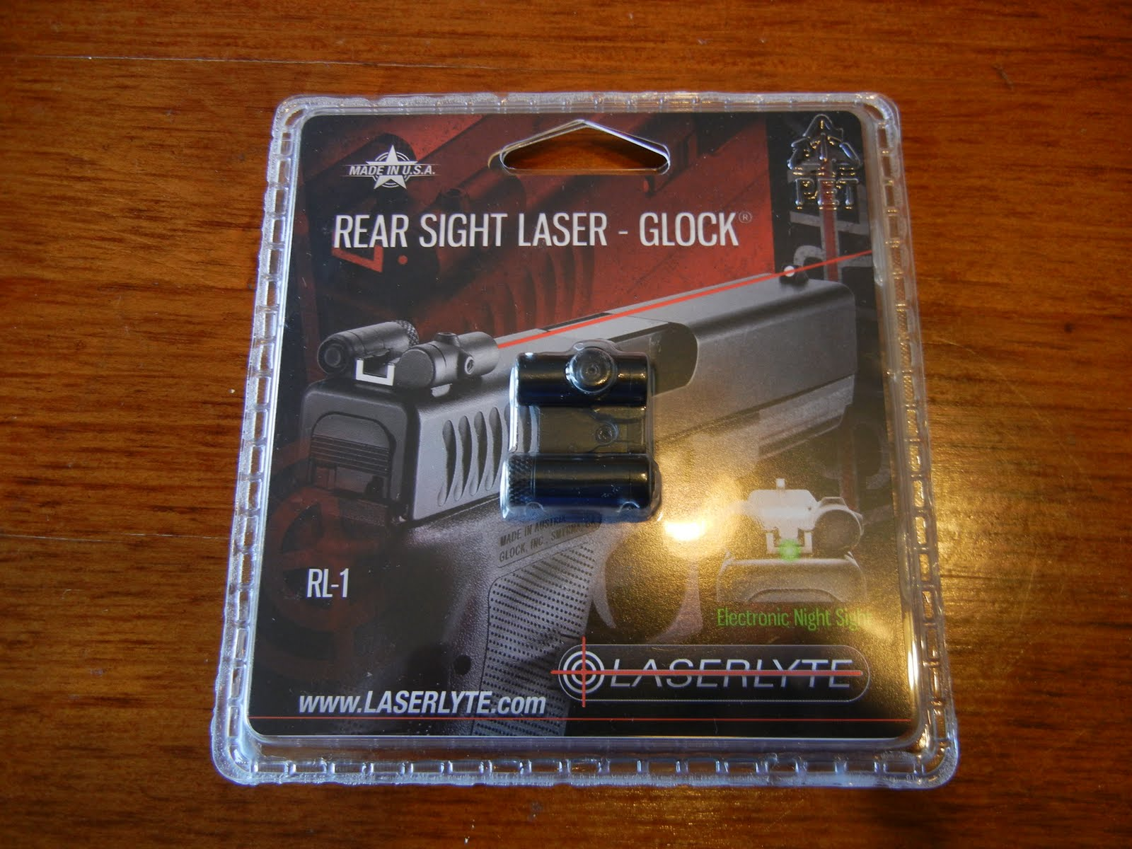 Review: LaserLyte RSL Rear Sight Laser for Glock - Laura Burgess
