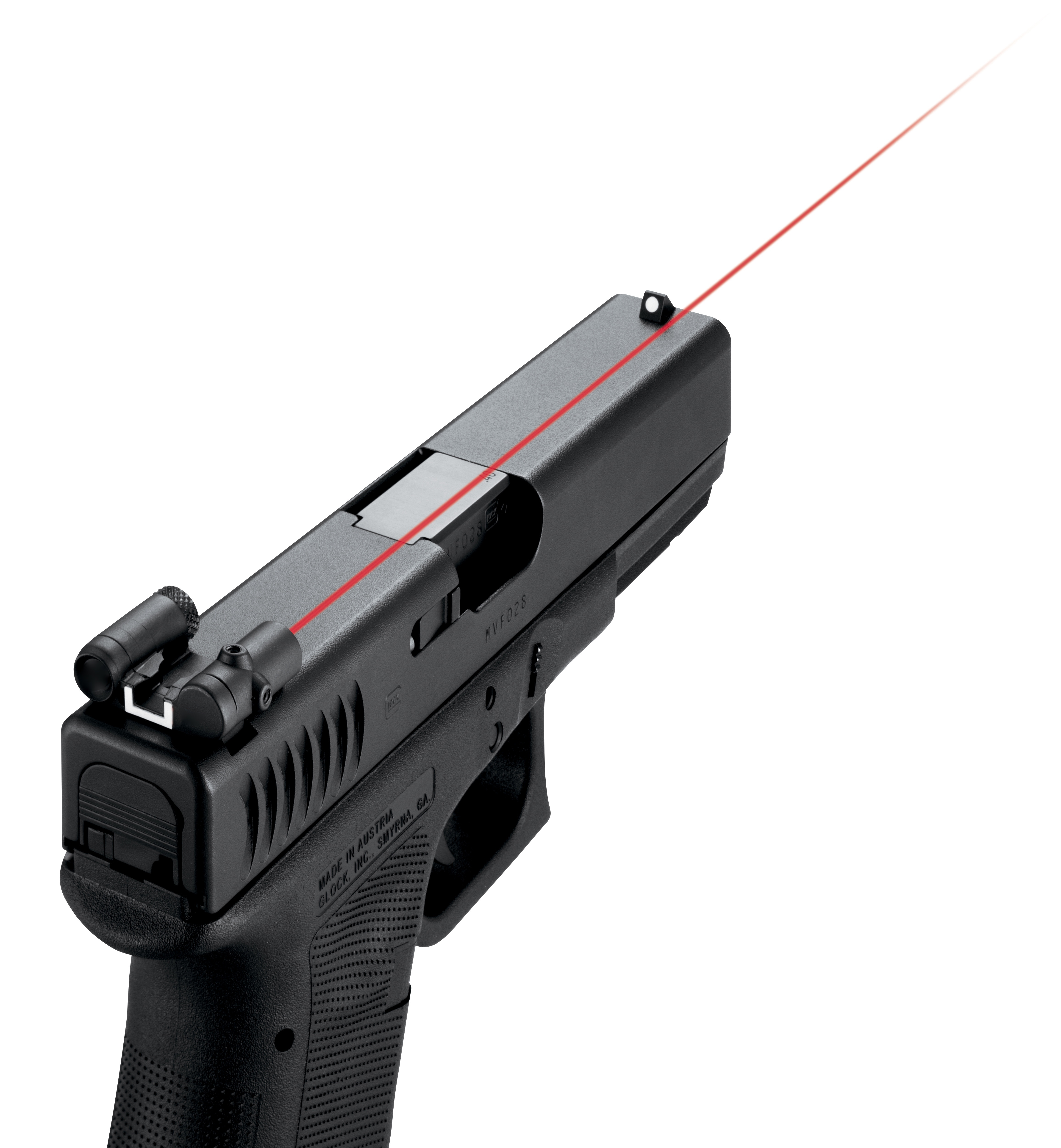 The New LaserLyte® Rear Sight Laser for GLOCK® One Laser