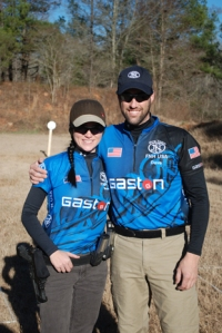 GASTON J. GLOCK style LP Team Members Brooke and Dave Sevigny of the Sevigny Performance Team