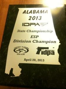 AL 2013 IDPA Award