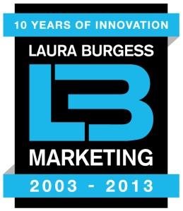 Laura Burgess Marketing 10 yrs anniversary