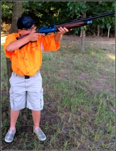 Chamber-View's Youth Target Shooter Ryan Fitch