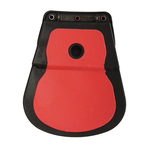 Fobus holster red rubber pad