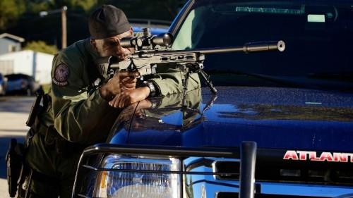 Atlanta SWAT officer with Bergara LRP Rifle