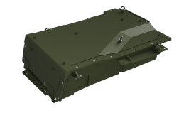 Above: Revision's Nerv Centr™ SWatPack™ Silent Watch Vehicle Battery enclosure—shown here in a Light Assault Vehicle configuration—is designed to be platform-specific.